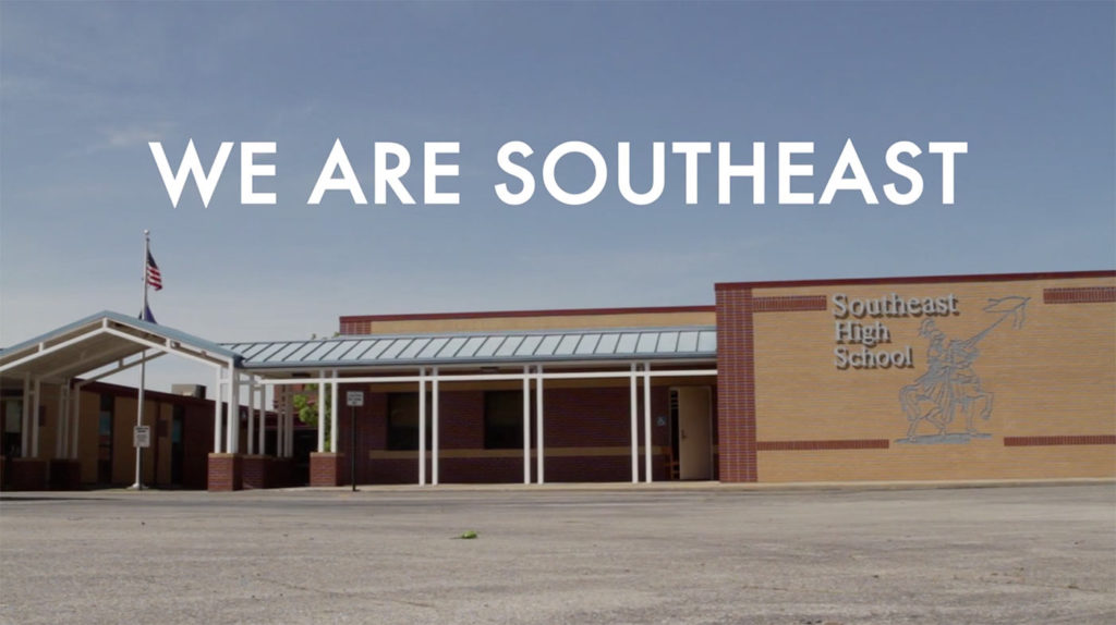 We Are South - Picture of high school
