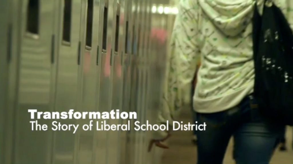 Poster for the video Success in Liberal School District, Kansas